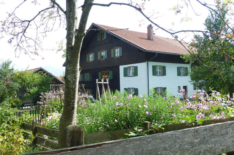 Au cœur du village fleuri d'Oy-Mittelberg