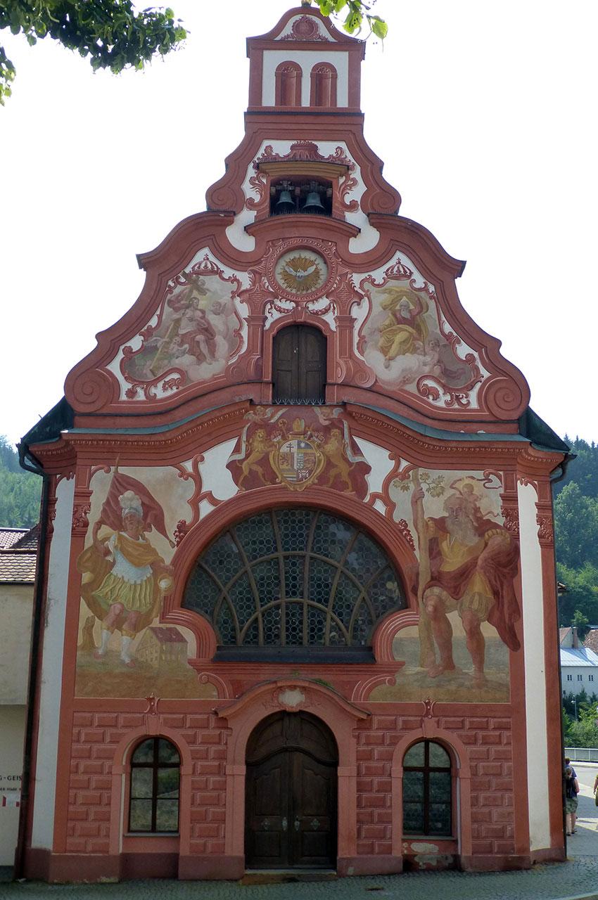 Église d'hôpital du Saint-Esprit à Füssen