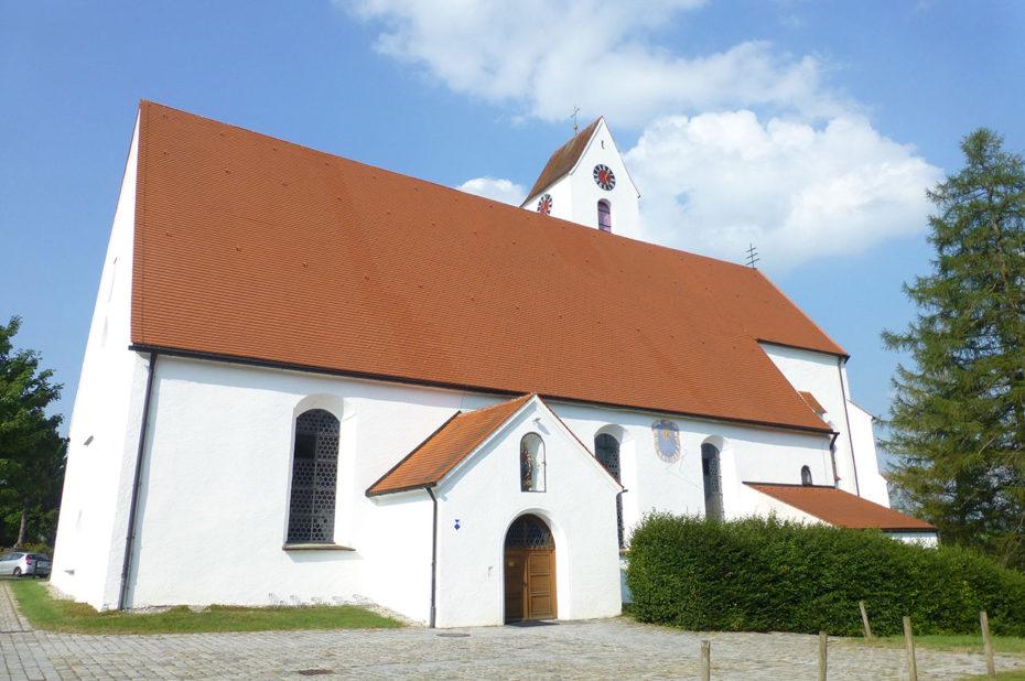 Église de pèlerinage Heilig Kreuz à Maria Rain