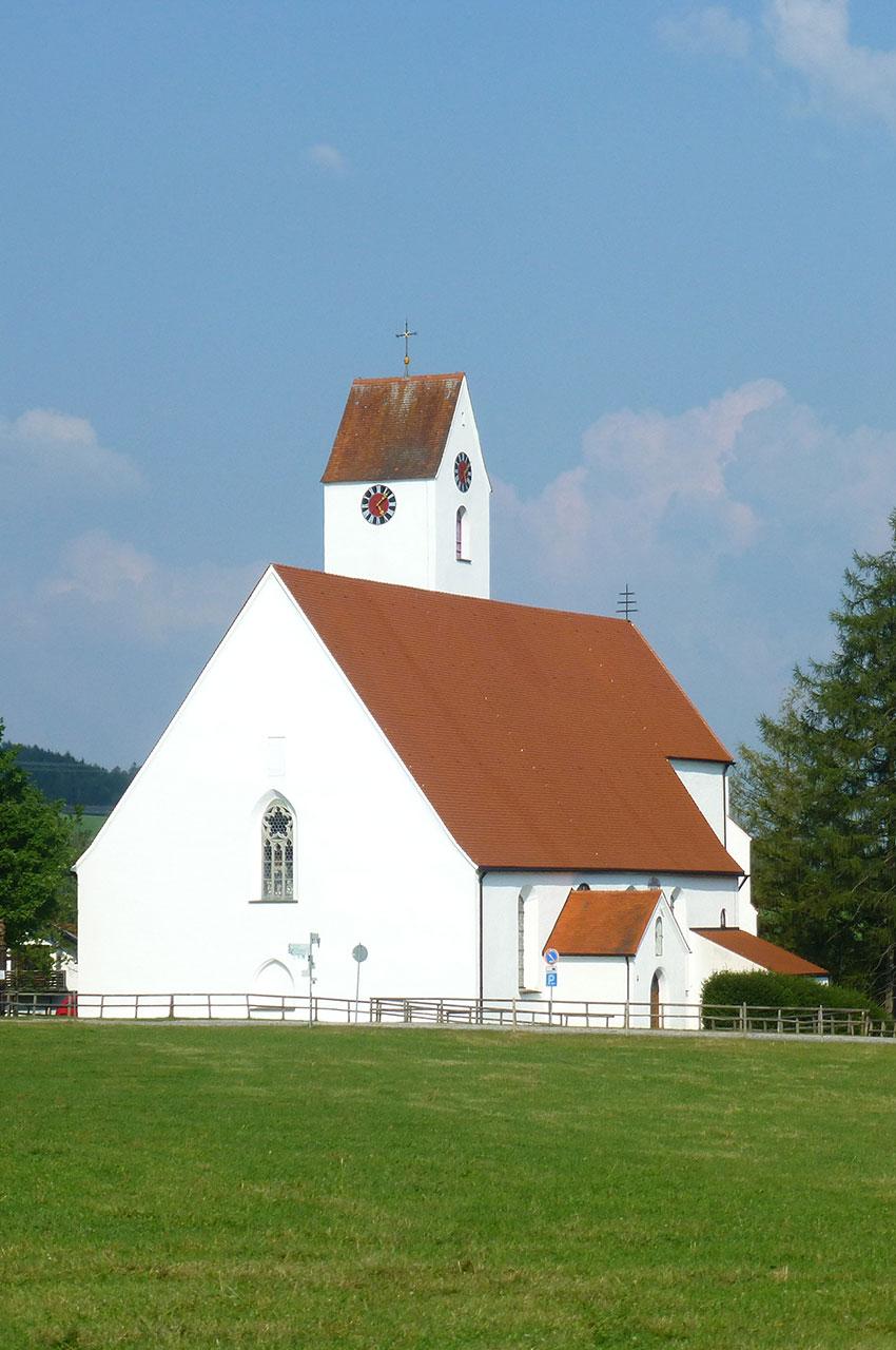 L'église de pèlerinage Maria Rain