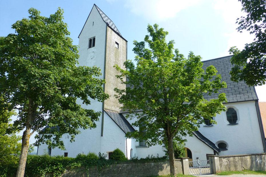 L'église St Michael d'Oy-Mittelberg