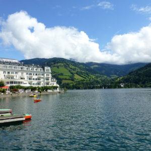 Le Grand Hôtel avec sa magnifique vue sur le lac Zeller See
