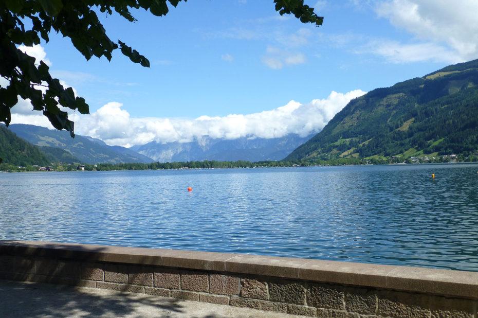 Le lac Zeller See a une longueur de 3,8 km