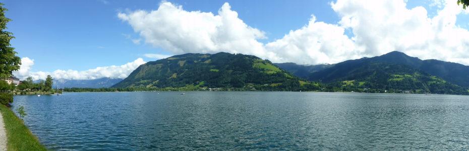 Au bord du lac Zeller See à Zell am See