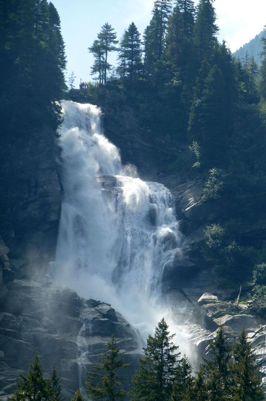 La majesté des cascades de Krimml