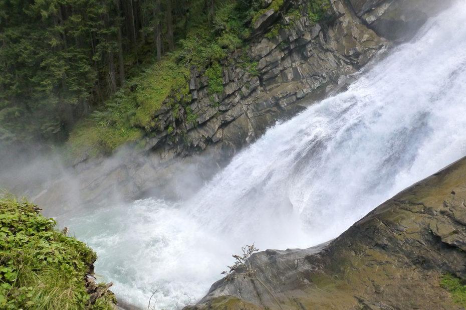 Une randonnée au plus près des cascades