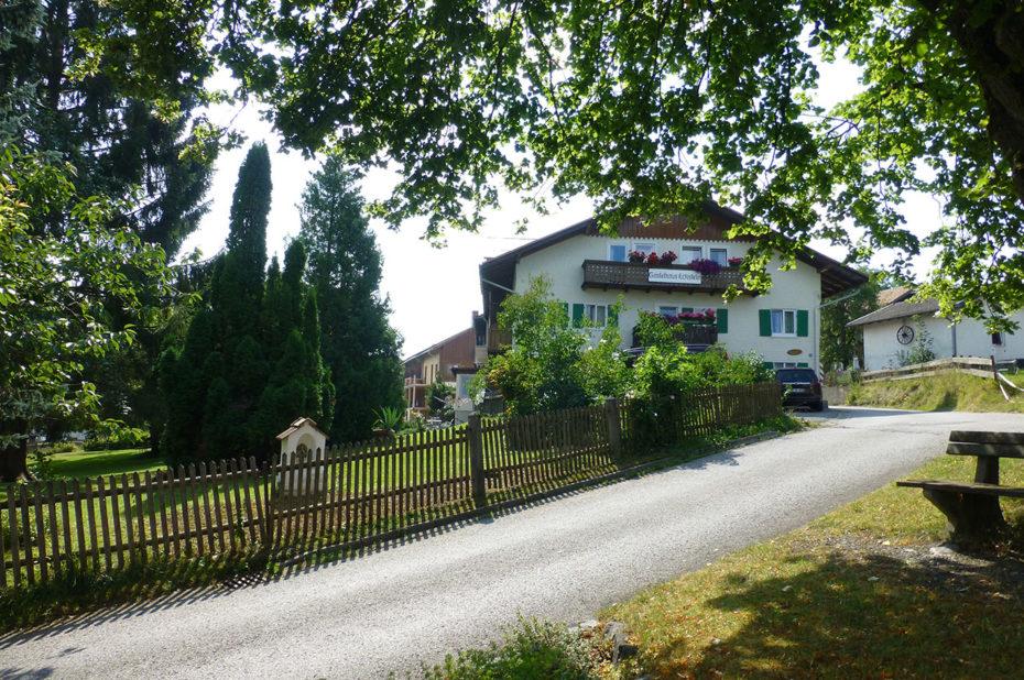 La région d'Oy-Mittelberg regorge de maisons d'hôtes