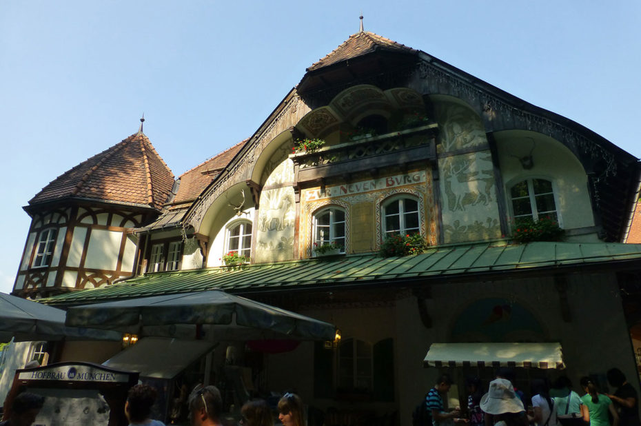 Restaurant à Schwangau pour prendre des forces pour la montée au château