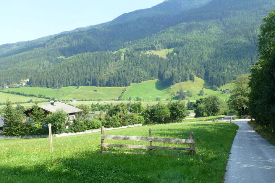 Route de Weyer à Bramberg am Wildkogel