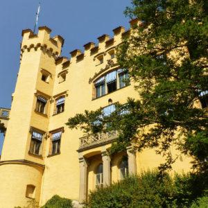 Une des tours du château de Hohenschwangau