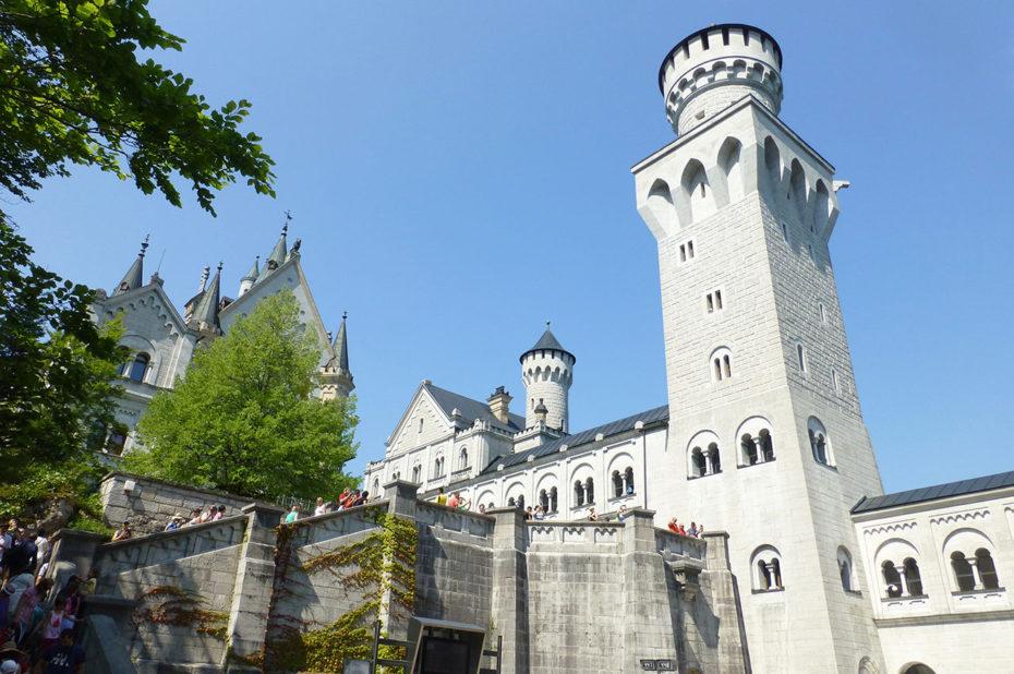 Toutes les visites du château sont des visites guidées