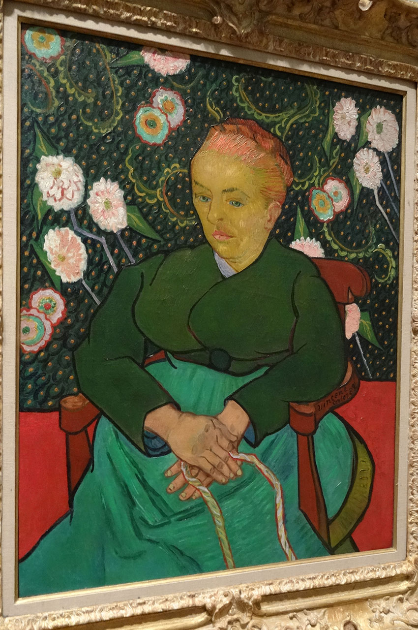 La berceuse de Vincent Van Gogh