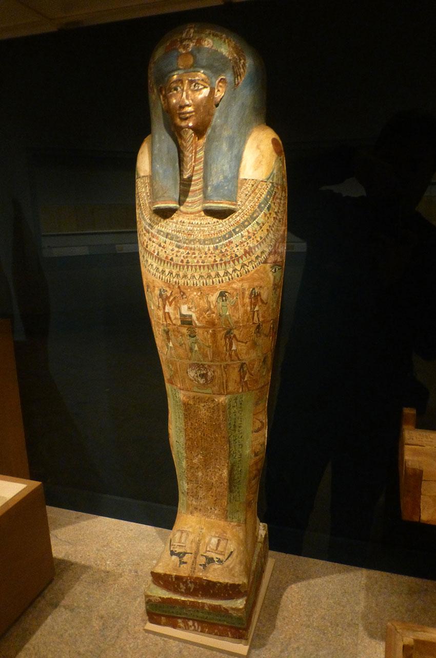 Cercueil d'Irtirutja, prêtre à Akhmim