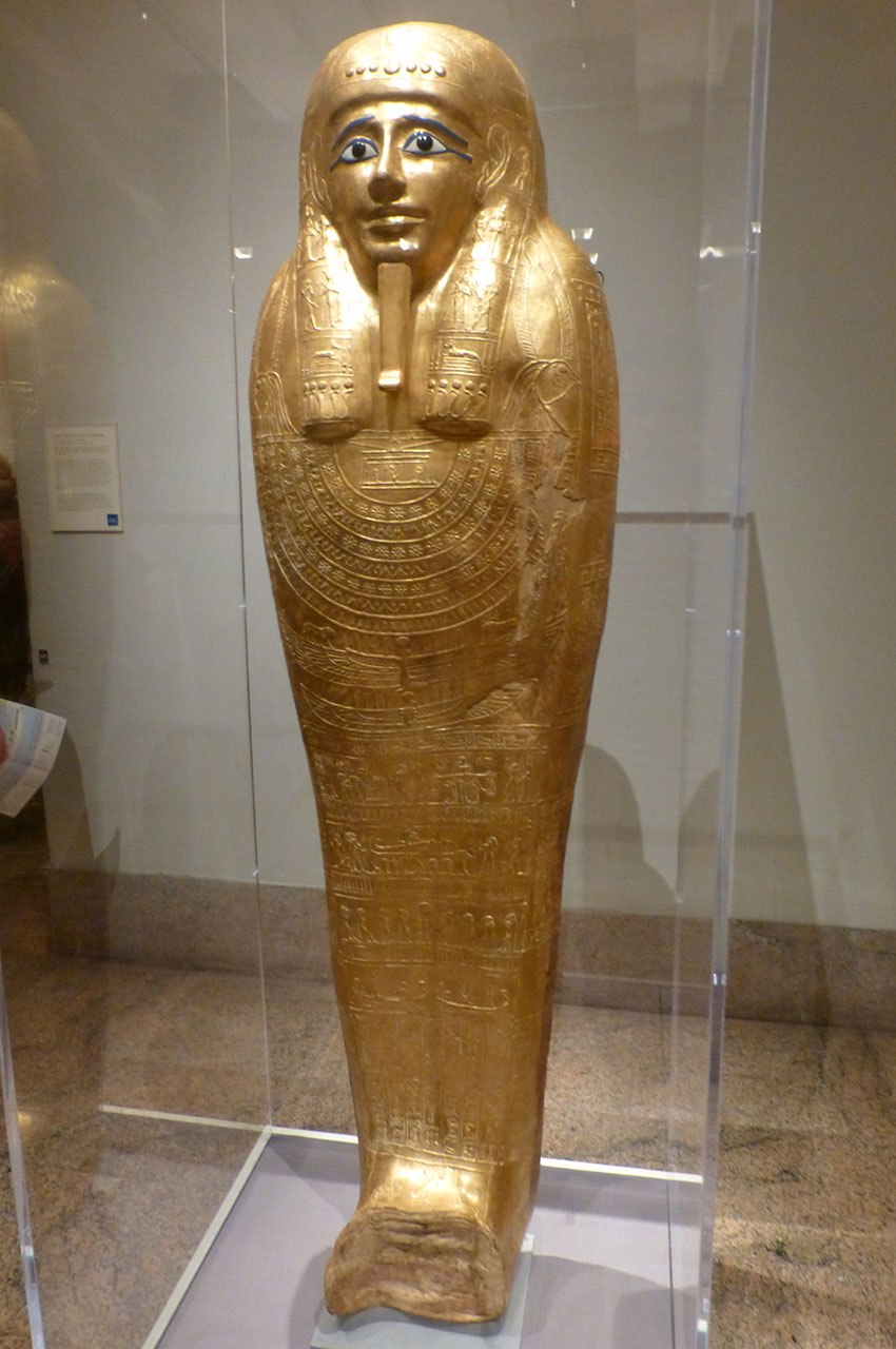 Cercueil du prêtre de Heryshef Nedjemankh