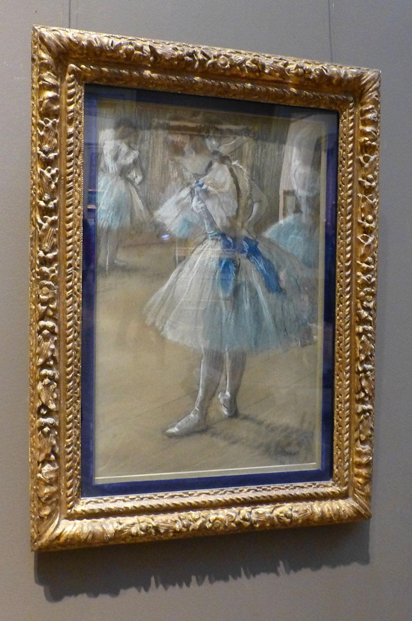 Danseuse d'Edgar Degas