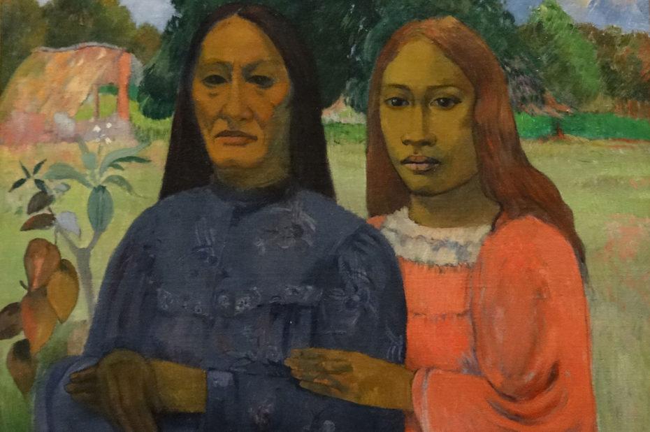 Deux femmes de Paul Gauguin