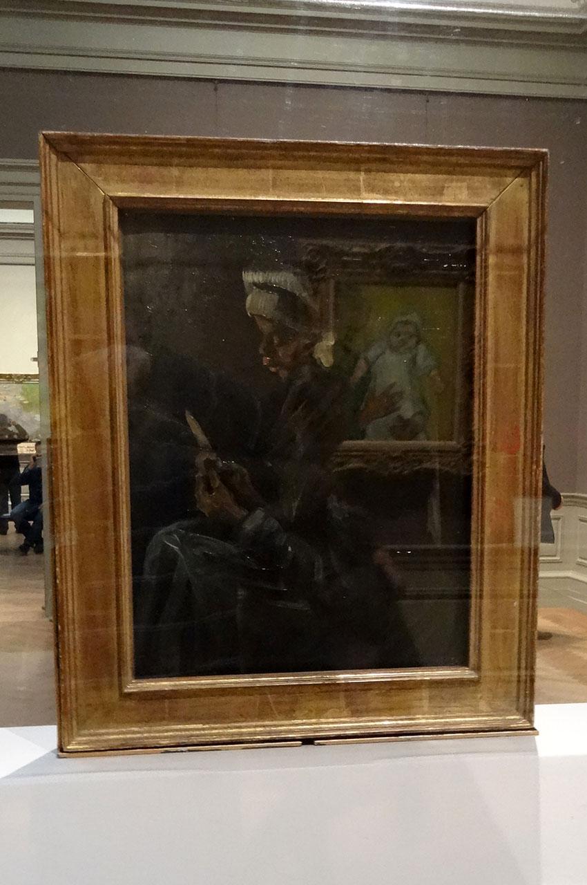 L'éplucheuse de pommes de terre de Vincent Van Gogh