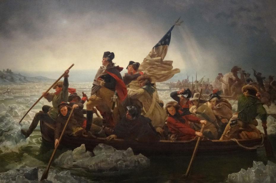 George Washington traversant le Delaware de Emanuel Leutze