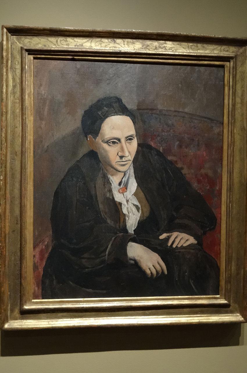 Gertrude Stein de Pablo Picasso