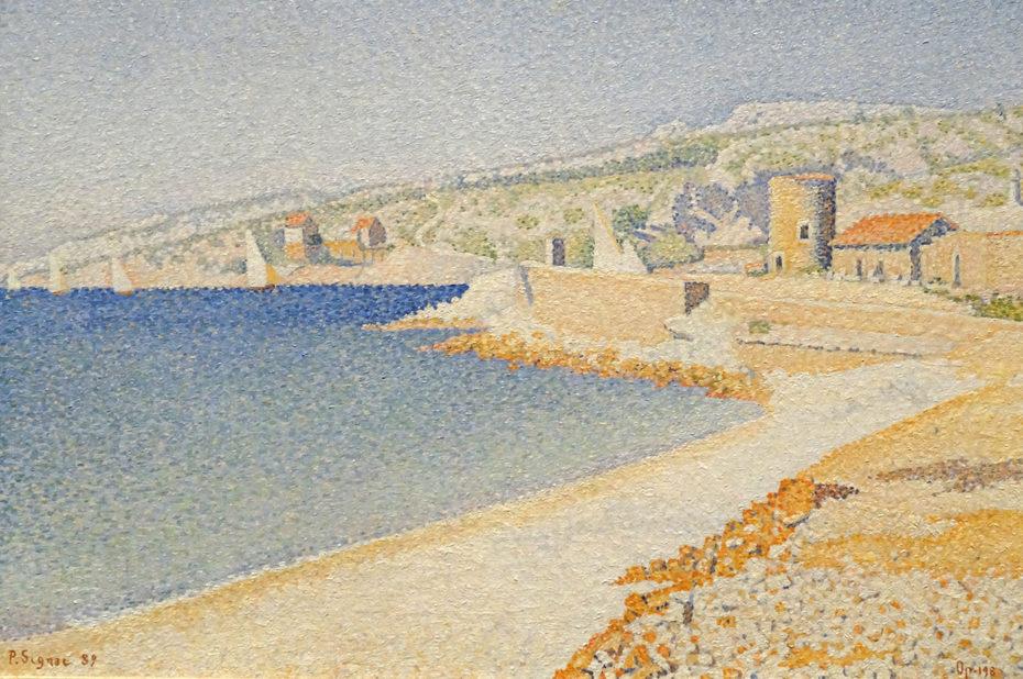 La Jetée à Cassis, Opus 198 de Paul Signac