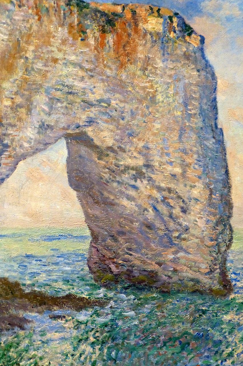 La Manneporte de Claude Monet