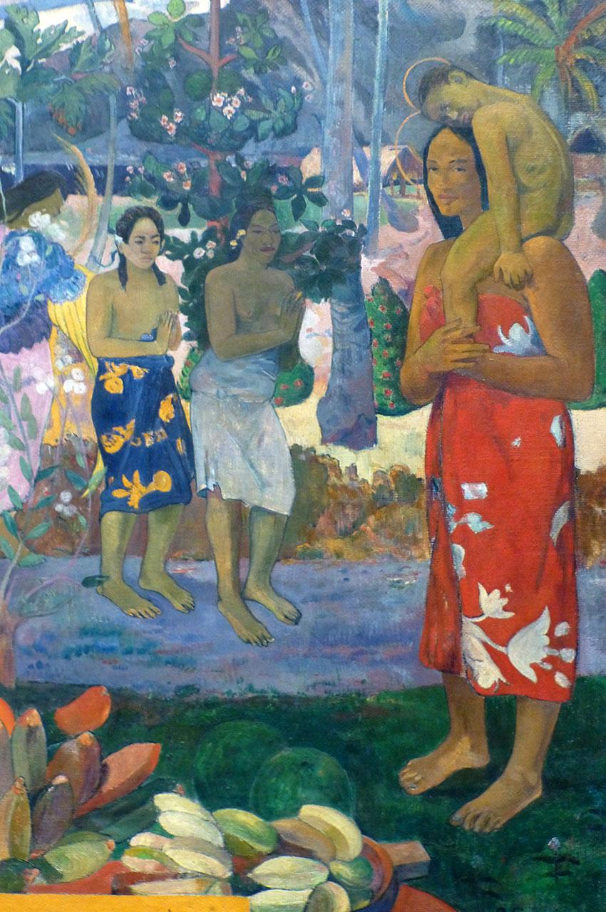 La Orana Maria de Paul Gauguin