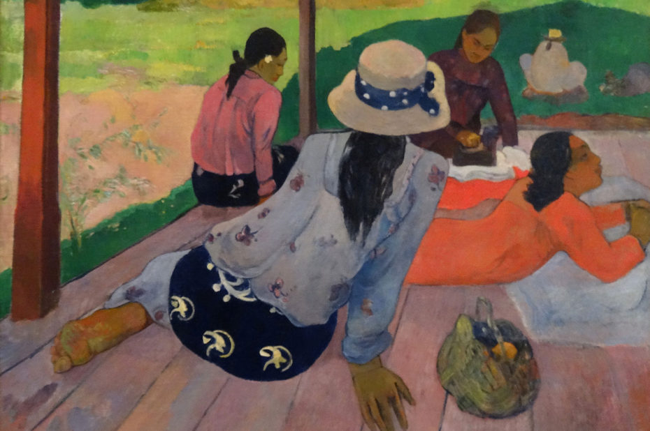La sieste de Paul Gauguin