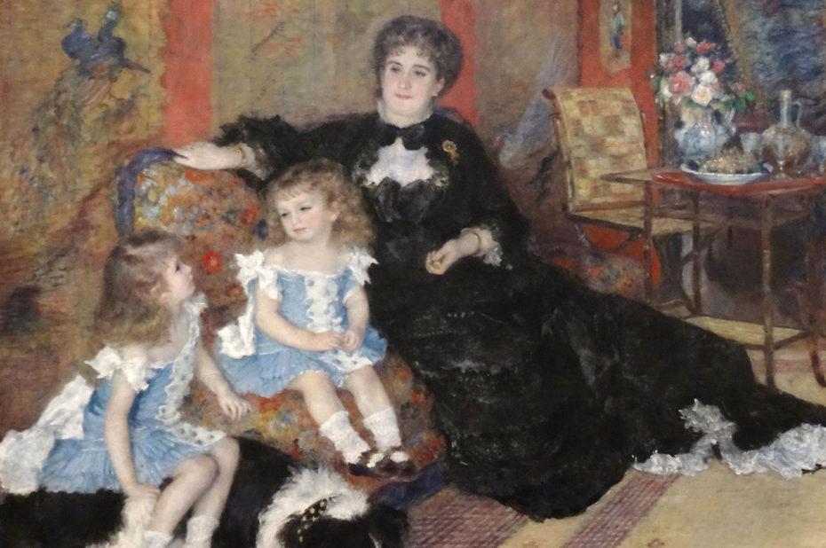 Madame Georges Charpentier et ses enfants d'Auguste Renoir