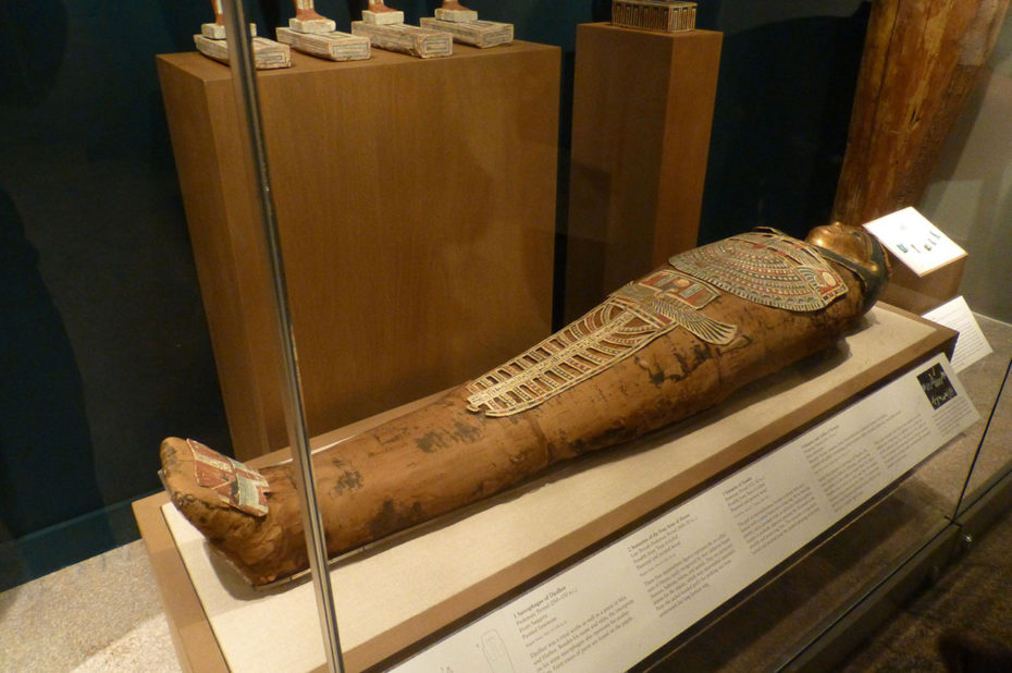 Momie de Nesmin, période ptolémaïque