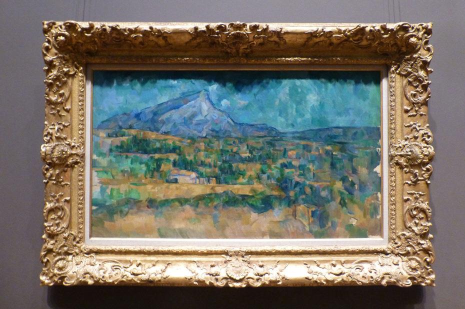 La montagne Sainte-Victoire de Paul Cézanne