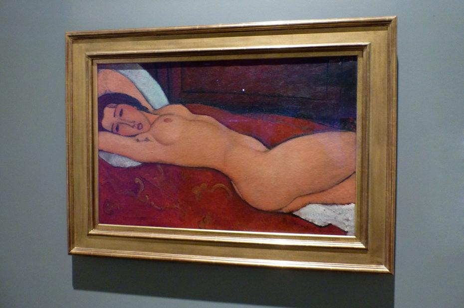 Nu couché d'Amedeo Modigliani