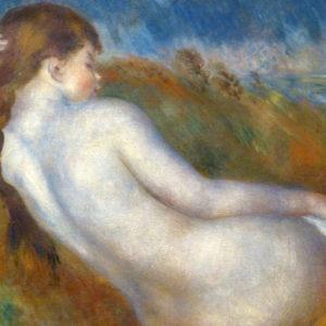 Nu couché, par Auguste Renoir - peinture