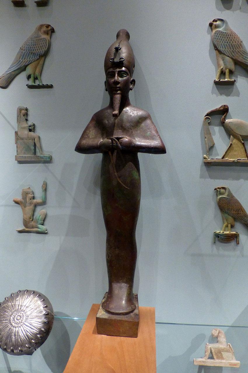 Osiris inscrit pour Harkhebit, fils de Padikhonsu et Isetempermes