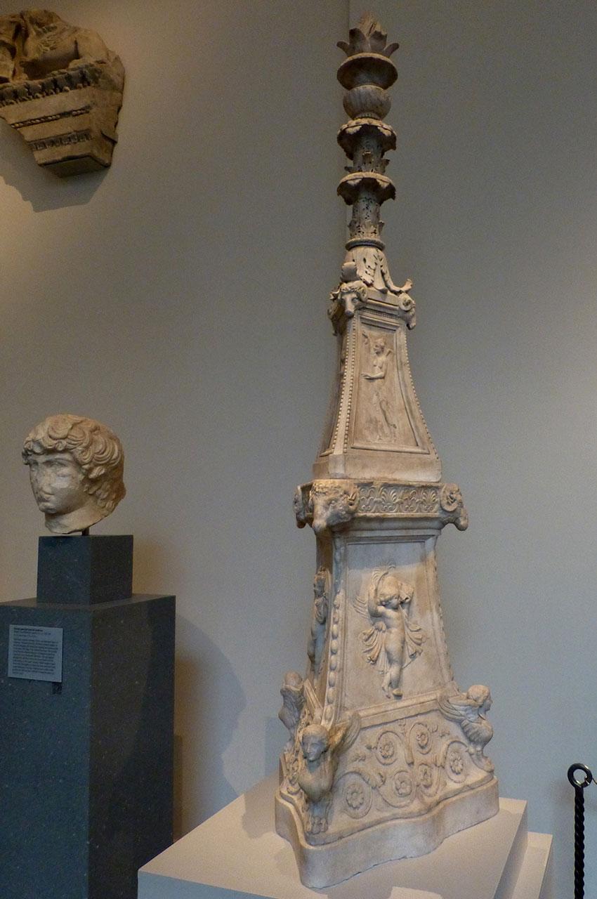 Pièce décorative en marbre
