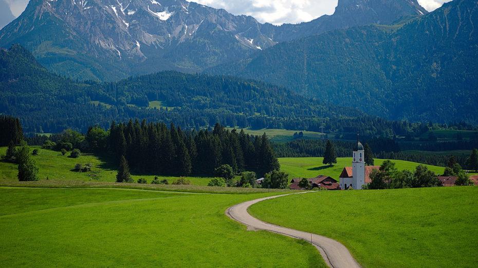 Sur la Romantische Strasse en Bavière