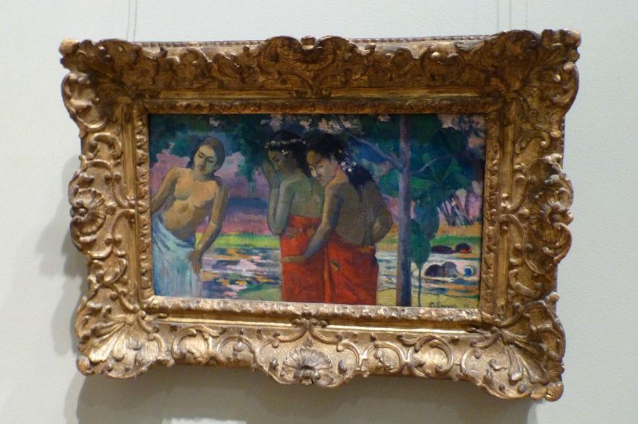 Trois femmes tahitiennes de Paul Gauguin