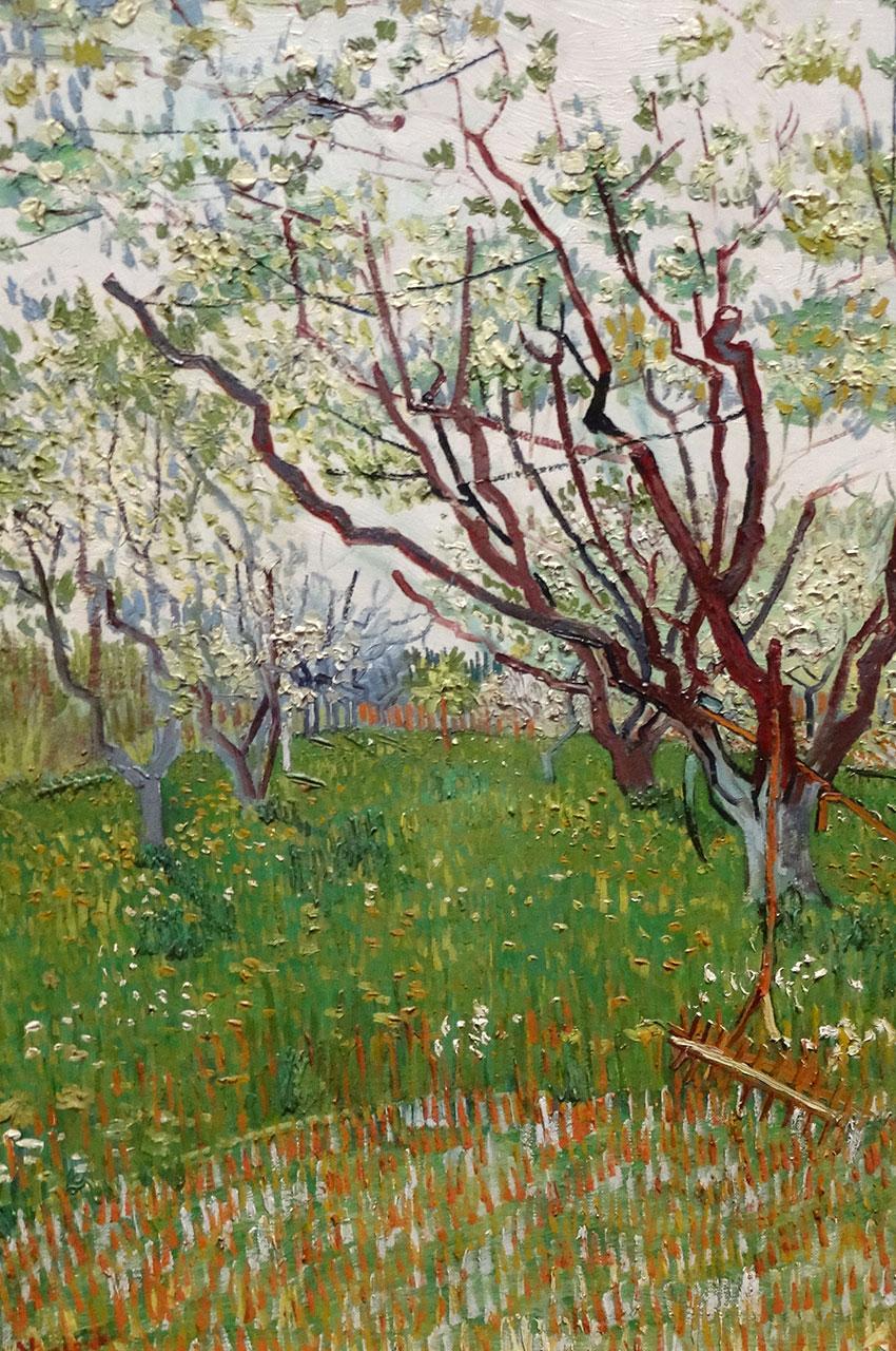 Le verger en fleurs de Vincent Van Gogh