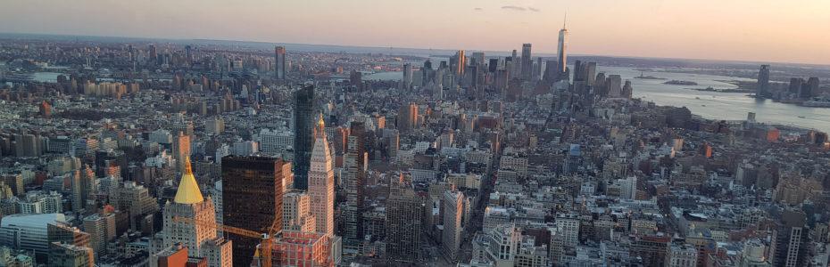 Vue sur New-York depuis l'Empire State Building