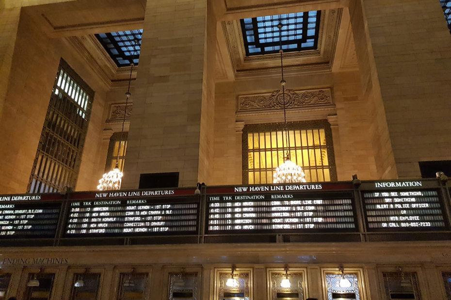 300 trains partent chaque jour de Grand Central