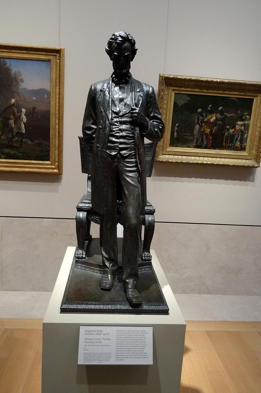 Abraham Lincoln : L'homme de Augustus Saint-Gaudens