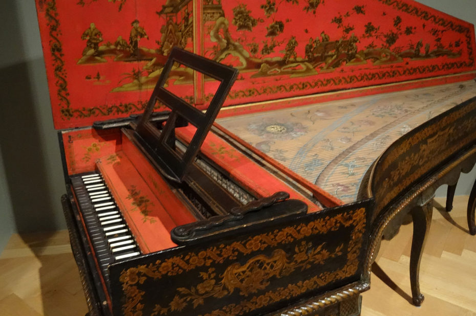 Clavecin converti en piano, XVIIIe siècle