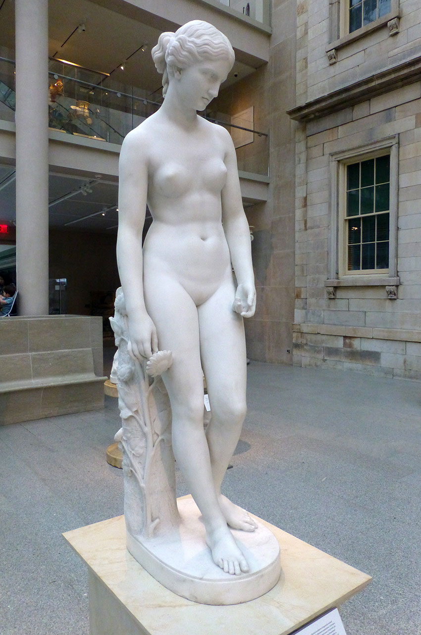Statue de Clytie, de William Henry Rinehart