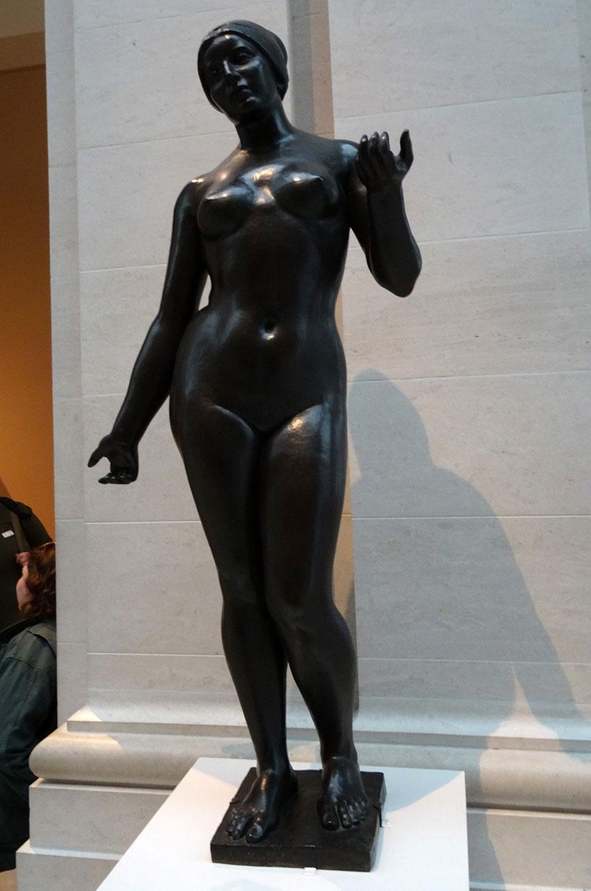 Été de Aristide Maillol, bronze