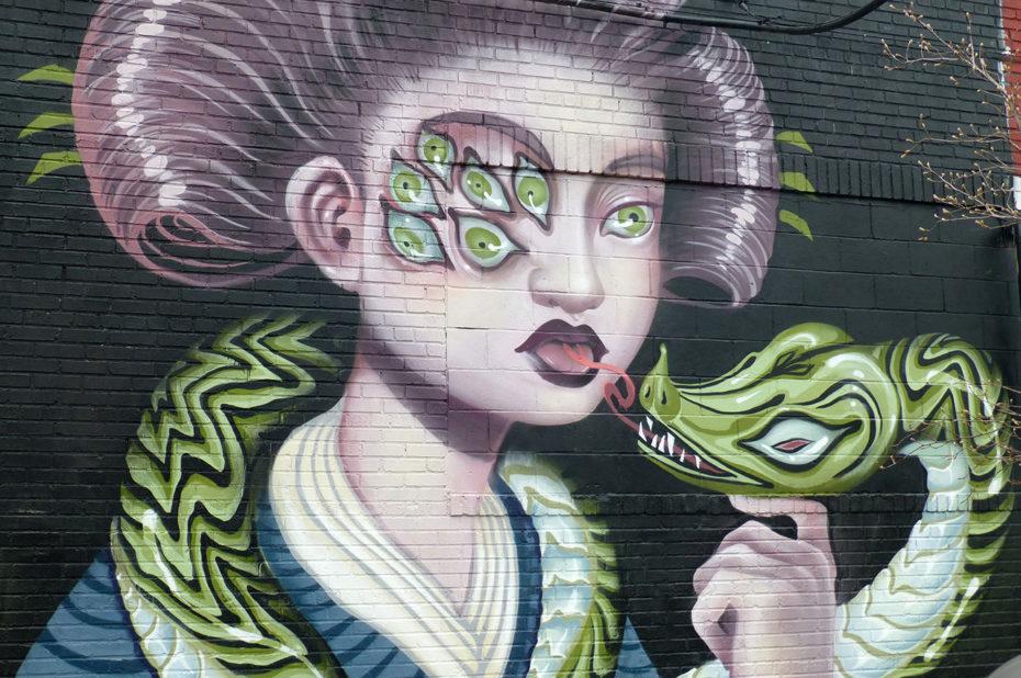 La femme au serpent