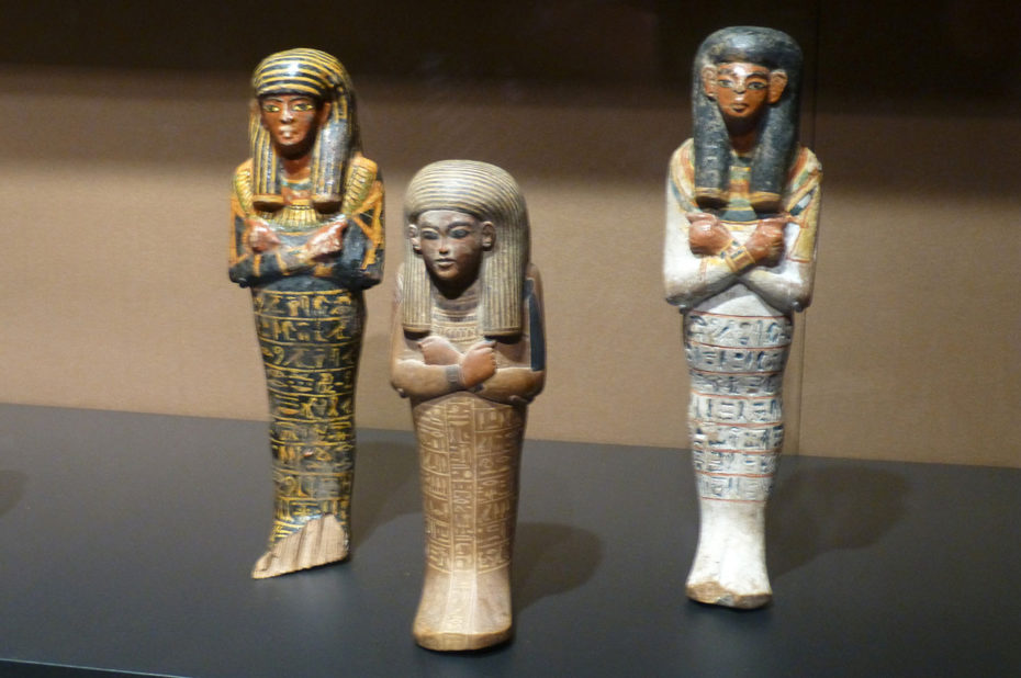 Figurines funéraires égyptiennes