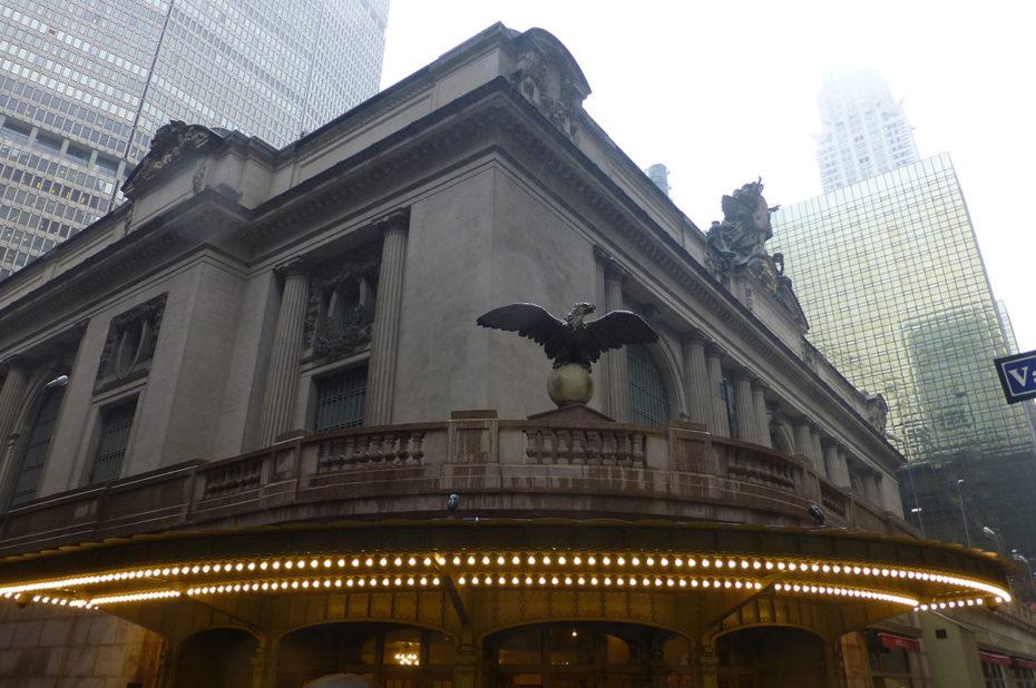 Grand Central Terminal, à l'angle de la 42e rue et de Vanderbilt Avenue
