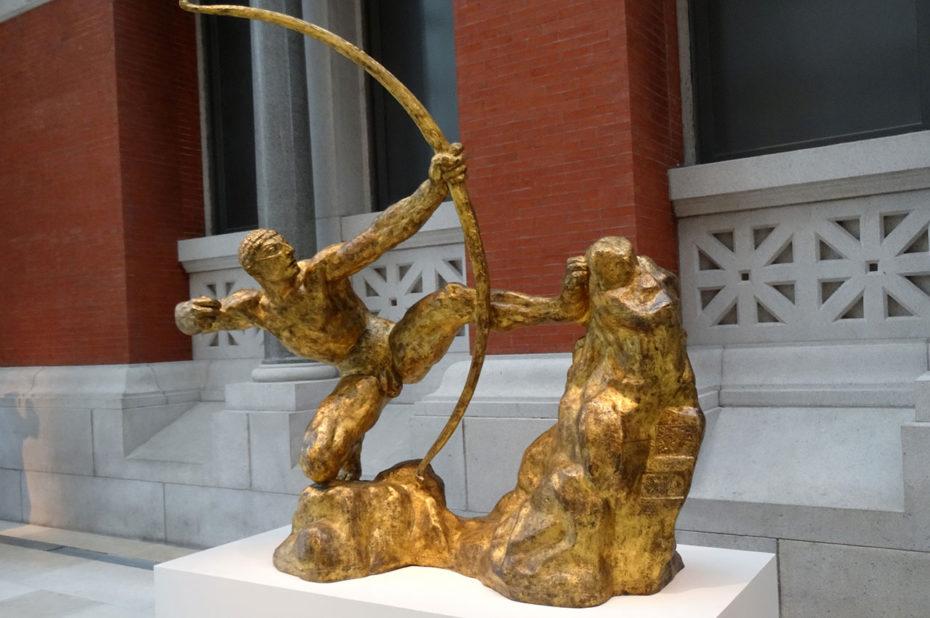 Herakles l'Archer, d'Antoine-Émile Bourdelle