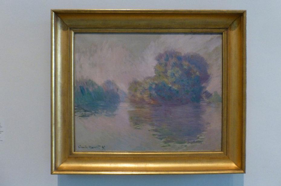 Les Iles à Port-Villez de Claude Monet