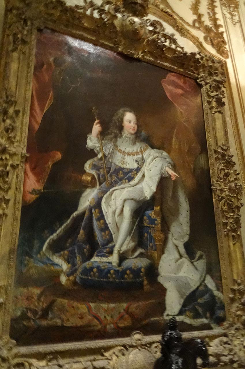 Peinture de Louis XV enfant