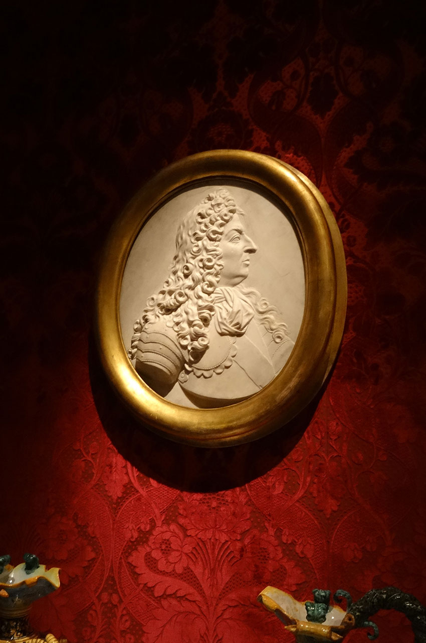 Portrait en relief de Louis XIV